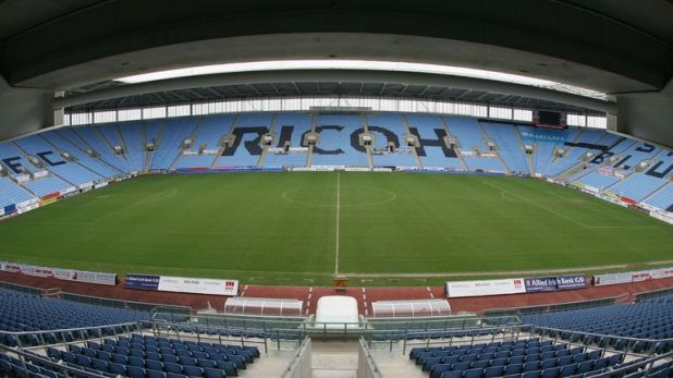 Coventry had hoped to return to the Ricoh Arena for the start of next season