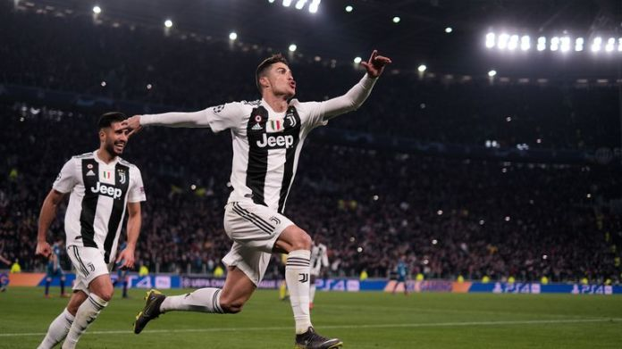 Cristiano Ronaldo scored a hat-trick for Juventus to eliminate Atletico Madrid