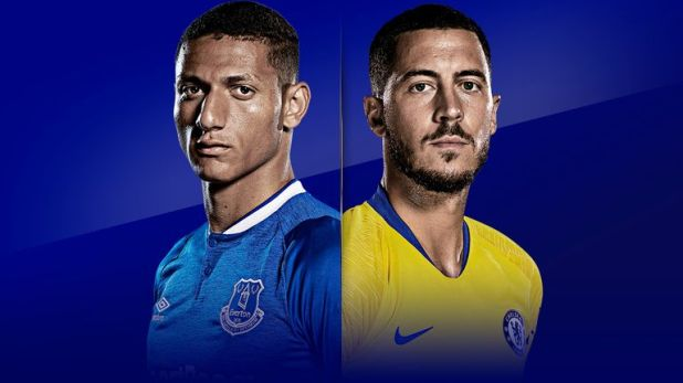 Everton host Chelsea at Goodison Park live on Super Sunday