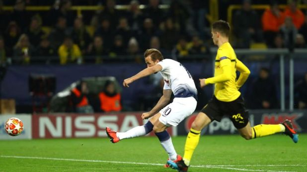 Kane became Spurs' all-time top scorer in Europe with 24 goals