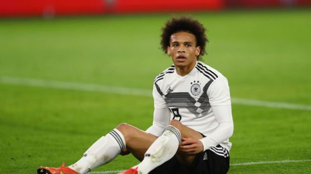 Leroy Sane will be fit for Germany's next match despite an injury scare against Serbia