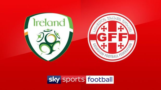 Republic of Ireland vs Georgia is live on Sky Sports on Tuesday