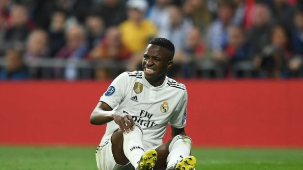 Vinicius Jr is facing a lengthy spell on the sidelines