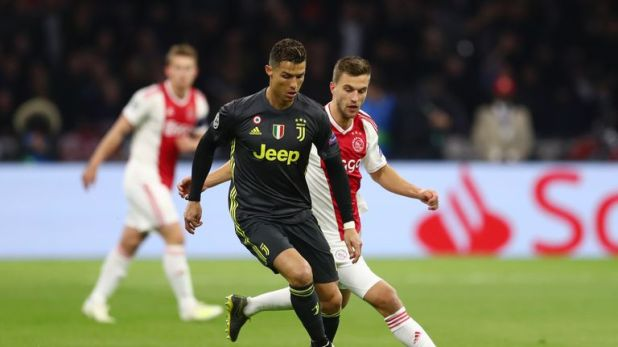 Ajax matched Juventus when they met in last week's first leg