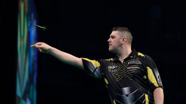 Daryl Gurney is outside the top four on leg difference