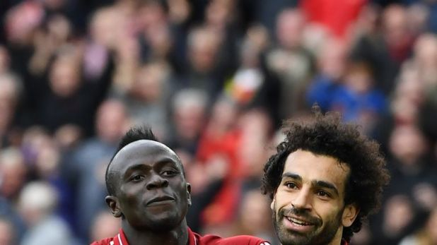Mohamed Salah and Sadio Mane have scored 45 goals between them this term