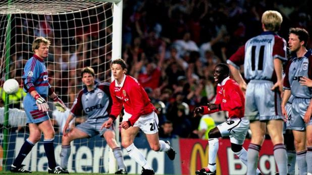 'Super-sub' Solskjaer scored in the 93rd minute against Bayern Munich to seal the 2-1 win
