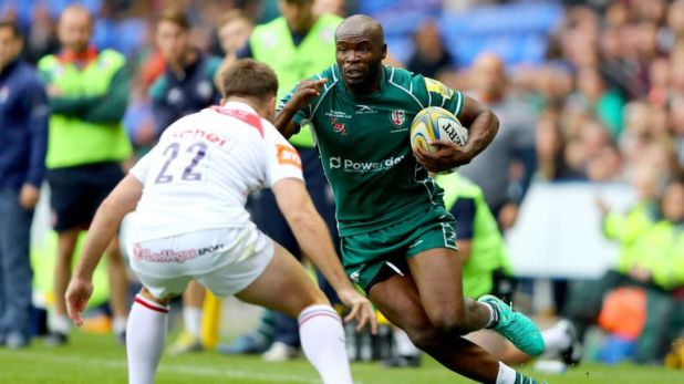 Topsy Ojo's time as a London Irish player will come to an end this weekend