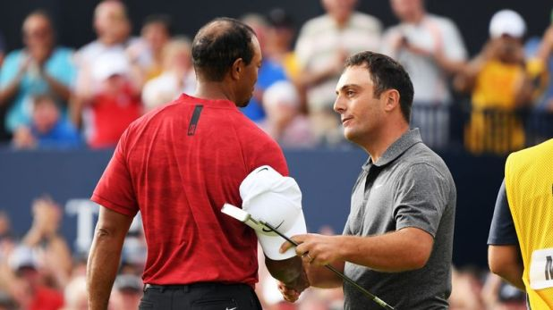 Woods and Molinari also played alongside eachother during the final round of the Masters