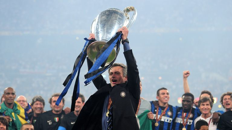 As Inter boss, Mourinho won a Champions League-Serie A double in 2010.
