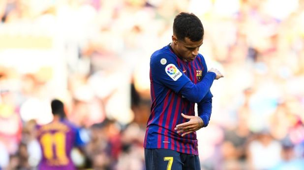 Philippe Coutinho has often cut a forlorn figure at the Nou Camp