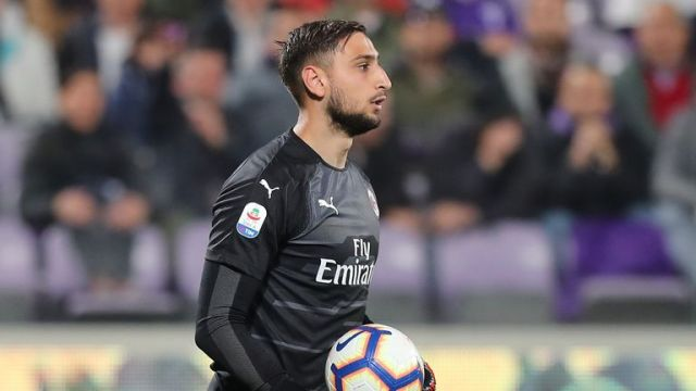 Milan 'keeper Gianluigi Donnarumma is still wanted by PSG