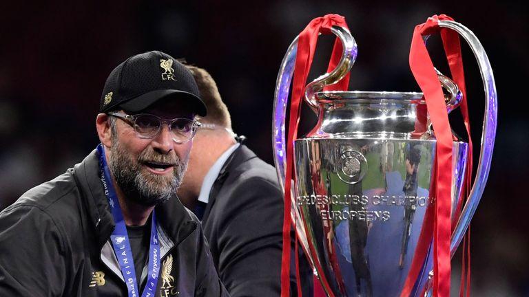 Klopp led Liverpool to the Champions League last season