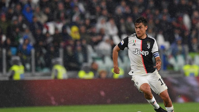 Paulo Dybala was a target for Manchester United