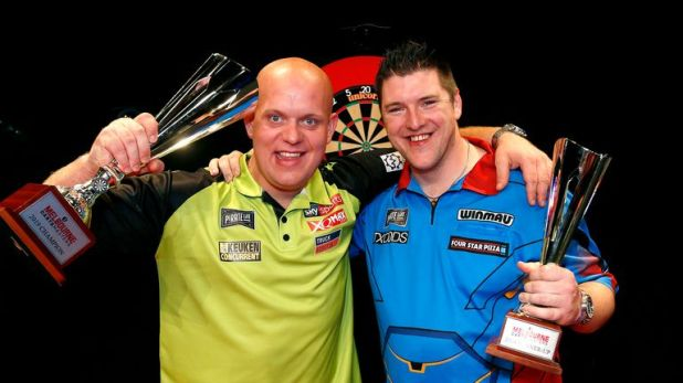Van Gerwen and Gurney head to Hamilton for the New Zealand Darts Masters