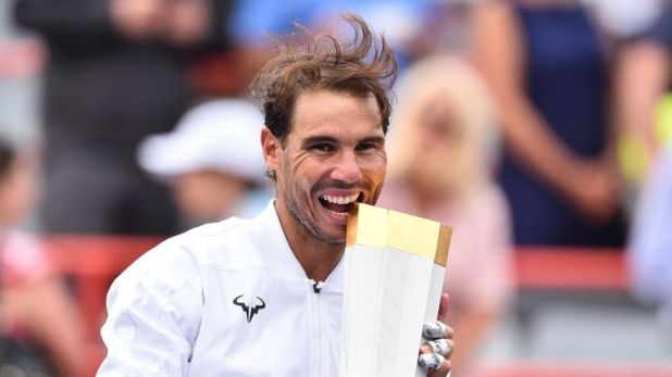 Nadal won on his most recent outing, winning in Montreal to extend his Masters record to 35 titles