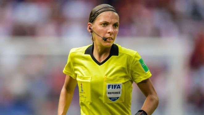 Stephanie Frappart will be the first female referee to take charge of a major UEFA men's match