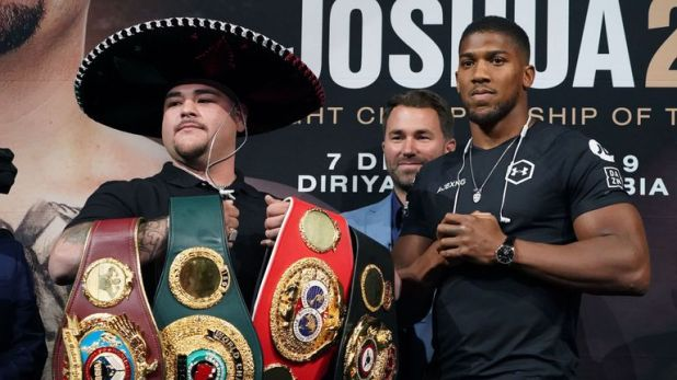 Ruiz Jr took Joshua's heavyweight world title belts with a shock victory in New York