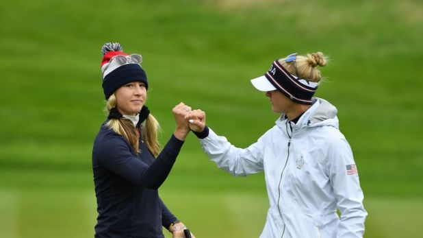 The Korda sisters play together in match 3