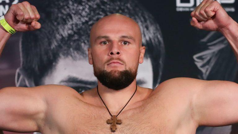 Sergey Kuzmin will fight Martin Bakole