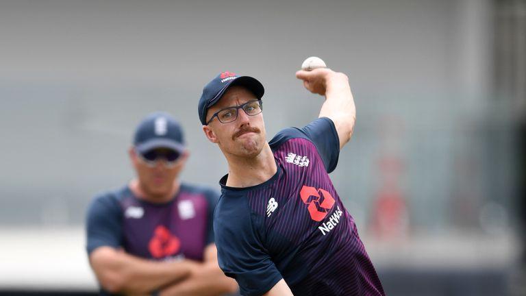 England spinner Jack Leach is suffering from gastroenteritis in New Zealand