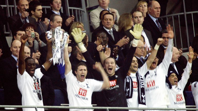 Tottenham's last silverware was the 2008 League Cup - they're already out of this season's competition