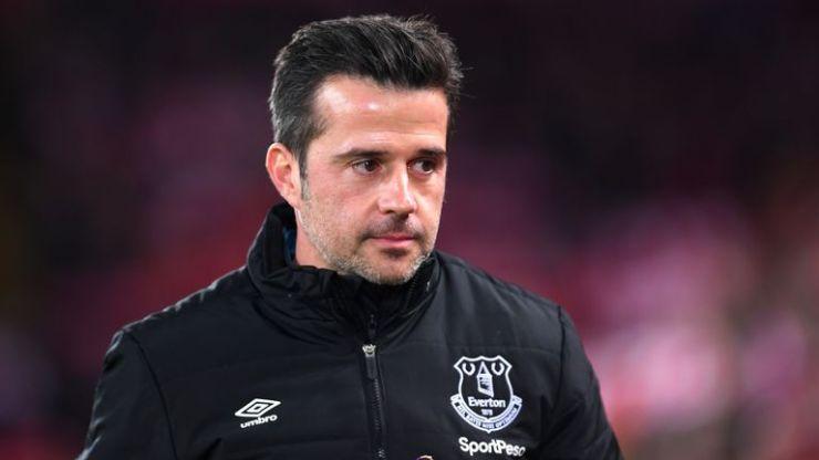 Marco Silva fue despedido por Everton el jueves después de la derrota en el derbi de Merseyside