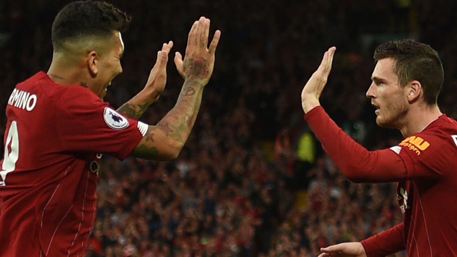 Andy Robertson supports Liverpool teammate Roberto Firmino to end Anfield drought Football news