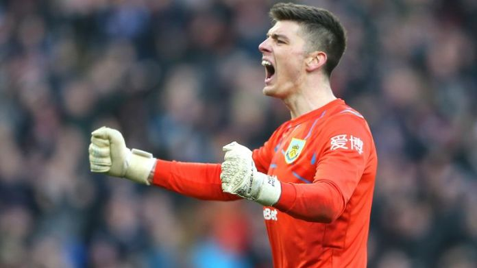 Nick Pope has been linked with a move to Chelsea in January