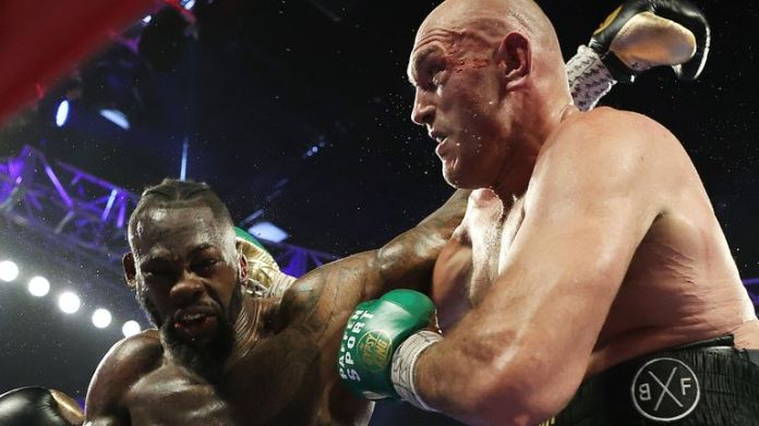 Fury arrested Deontay Wilder in February to become the new WBC champion