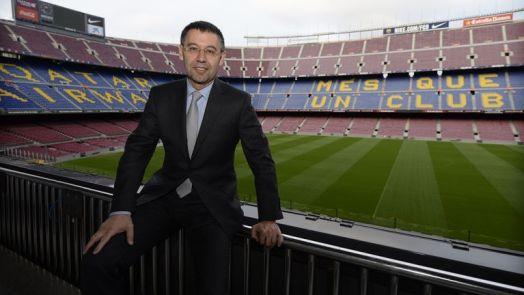 Josep Maria Bartomeu has been Barcelona president since 2014