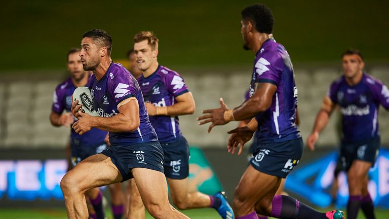Melbourne Storm are not being allowed to train or play at their base in the city