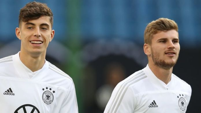 Werner could still be joined by his German team-mate Kai Havertz to Chelsea if Lampard succeeds