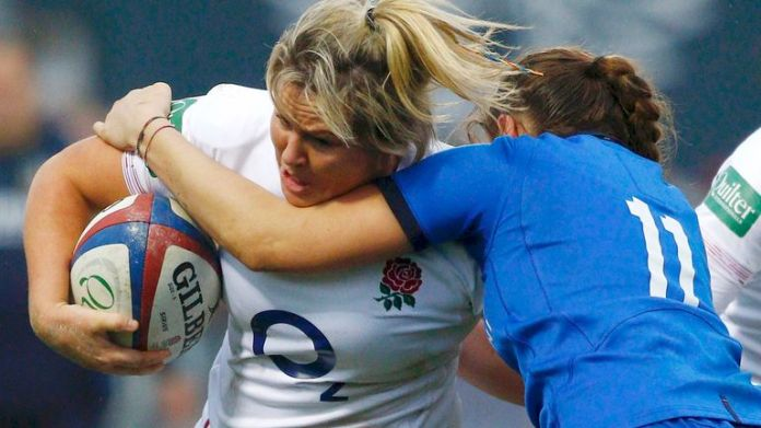 Marlie Packer says England feel safe to travel to Italy amid the coronavirus pandemic