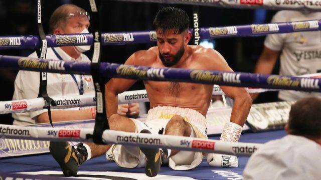 Qais Ashfaq's unbeaten record was spoiled by Marc Leach