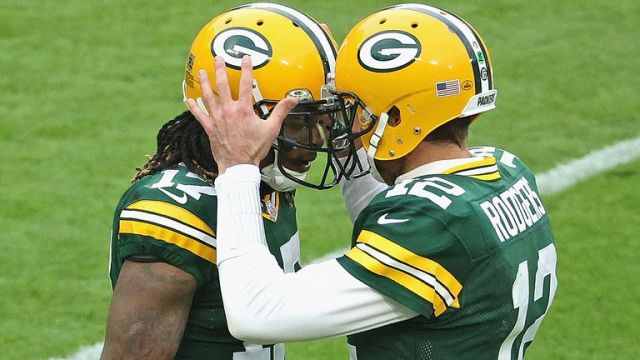 Adams has become a key figure for Rodgers in Green Bay