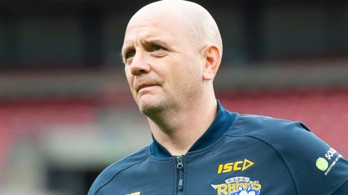 Richard Agar will miss the Rhinos' play-off game against the Dragons