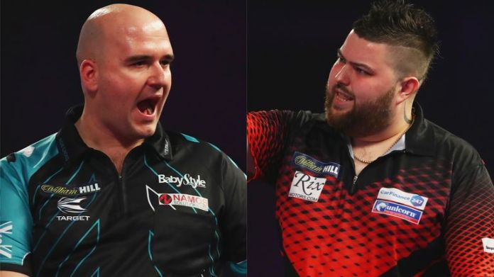 Rob Cross and Michael Smith are teaming up for England