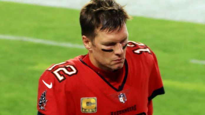 Tom Brady was intercepted three times and suffered the largest defeat of his career on Sunday night against the Saints