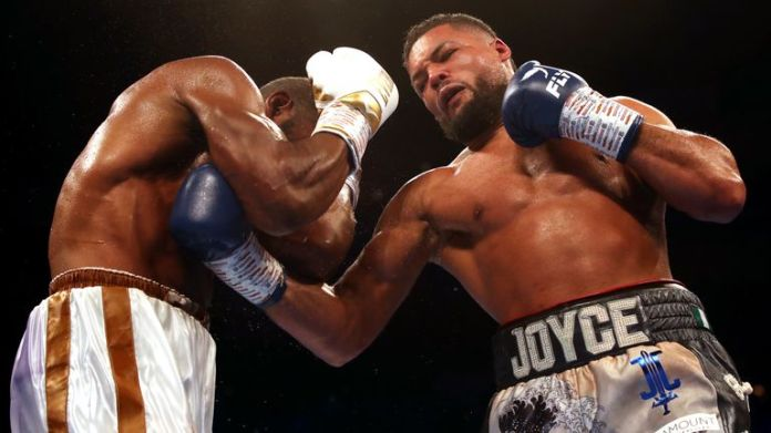 Fisher learned his craft sparring undefeated contender Joe Joyce