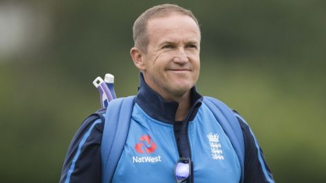 Trent Rockets head coach Andy Flower has tested positive for Covid-19