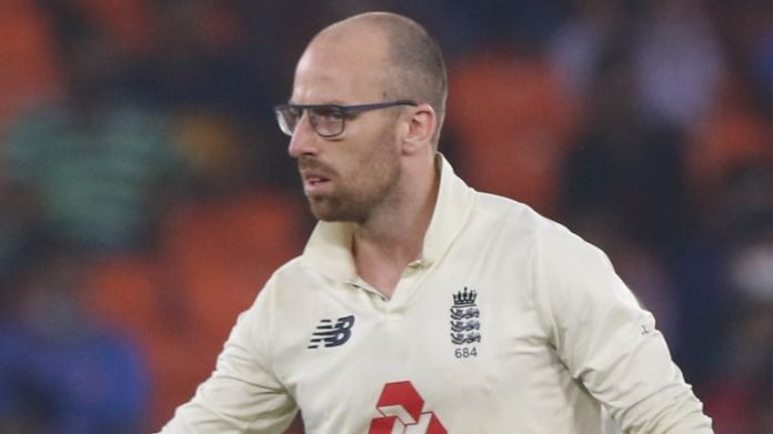 England spinnerJack Leach is 28th in the Test bowling charts (Pic credit - BCCI)