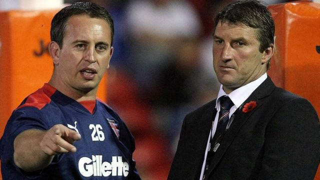 Steve McNamara and Tony Smith played and coached together