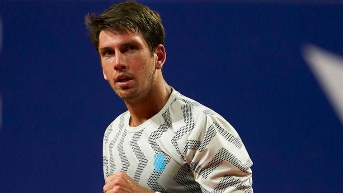 Cameron Norrie beat Evans in four sets at this year's Australian Open