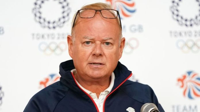 Mark England says there will be no medal target for Team GB following a tumultuous year because of Covid-19