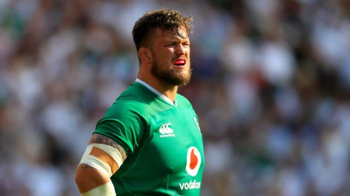 Andrew Porter is out of the Lions touring party after suffering a toe injury playing for Leinster