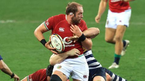 Alun Wyn Jones came through the Stormers clash