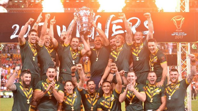 As it stands, Australia will not be defending the Rugby League World Cup title they won in 2017