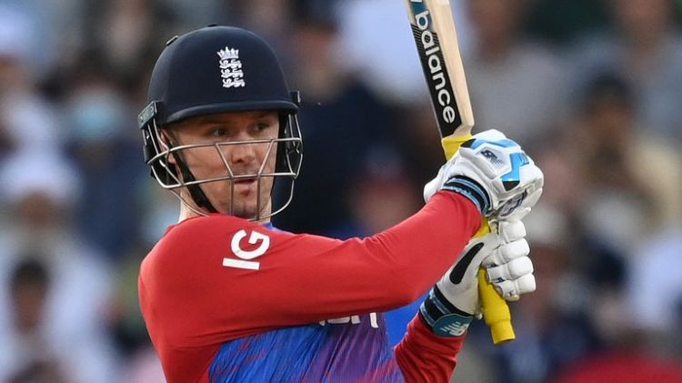 Jason Roy got England off to a strong start in the chase with 64 from 36 balls