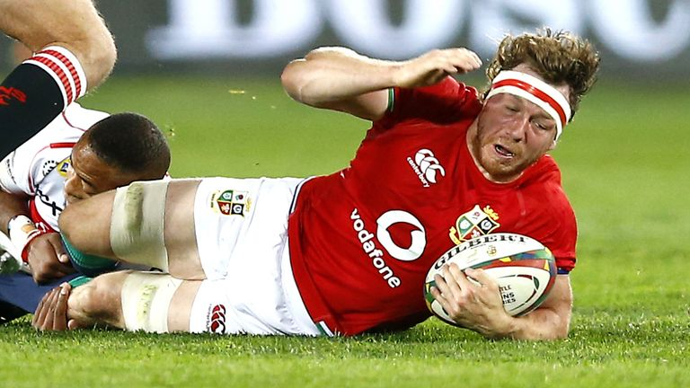 Hamish Watson made a big impression for the Lions